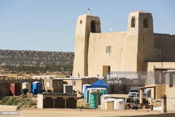 Acoma Pueblo, San Estevan del Rey Mission Church, 1629