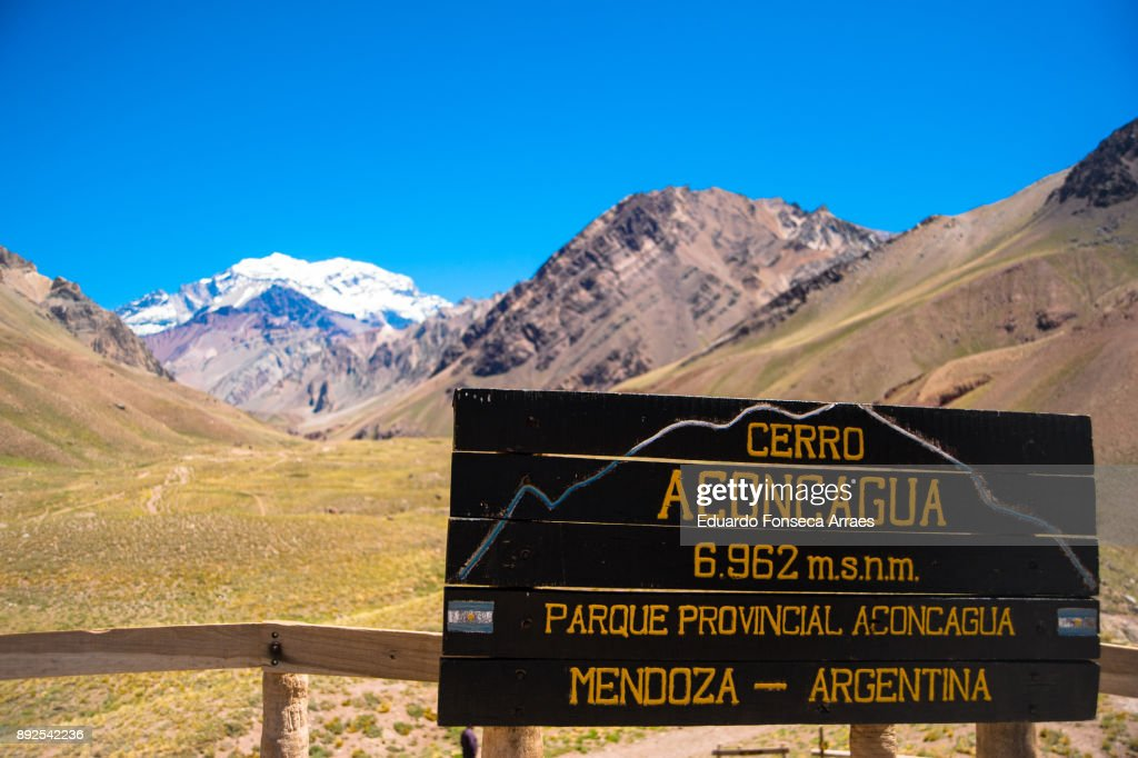 Aconcagua Provincial Park : Stock Photo