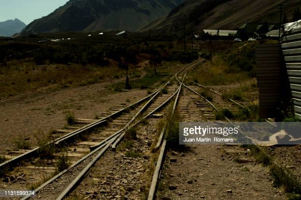 aconcagua train - cielo stock pictures, royalty-free photos & images