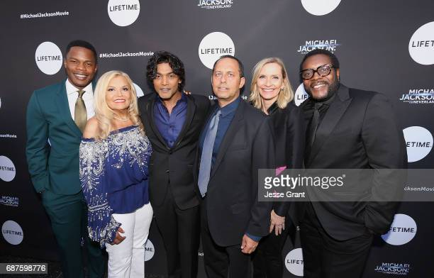 Acor Sam Adegoke executive producer Suzanne de Passe actor Navi executive producer Bob Teitel EVP Head of Programming for Lifetime Liz Gateley and...