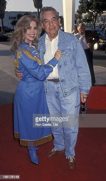 Acor Tom Bosley and wife Patricia Carr attending 40th Anniversary Party For SHARE Boomtown on May 8 1993 at the Santa Monica Civic Auditorium in...