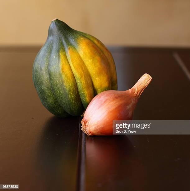 Acorn Squash and Shallot