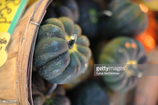 Acorn squash from Munson Farms at 75th and Valmount in Boulder on Monday October 3 2011 Cyrus McCrimmon The Denver Post