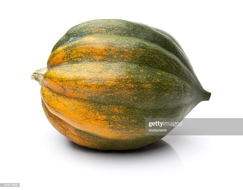 Acorn-Kürbis, isoliert auf weiss : Stock-Foto