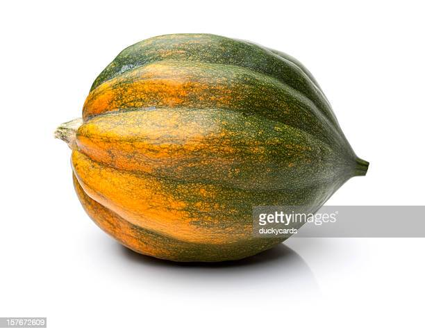 Acorn Squash Isolated on White