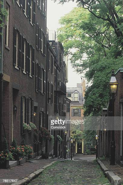 Acorn Street , Boston , Massachusetts