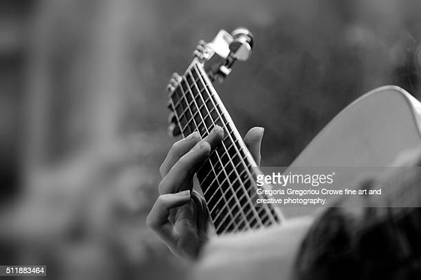 acoustic guitar - gregoria gregoriou crowe fine art and creative photography stock pictures, royalty-free photos & images