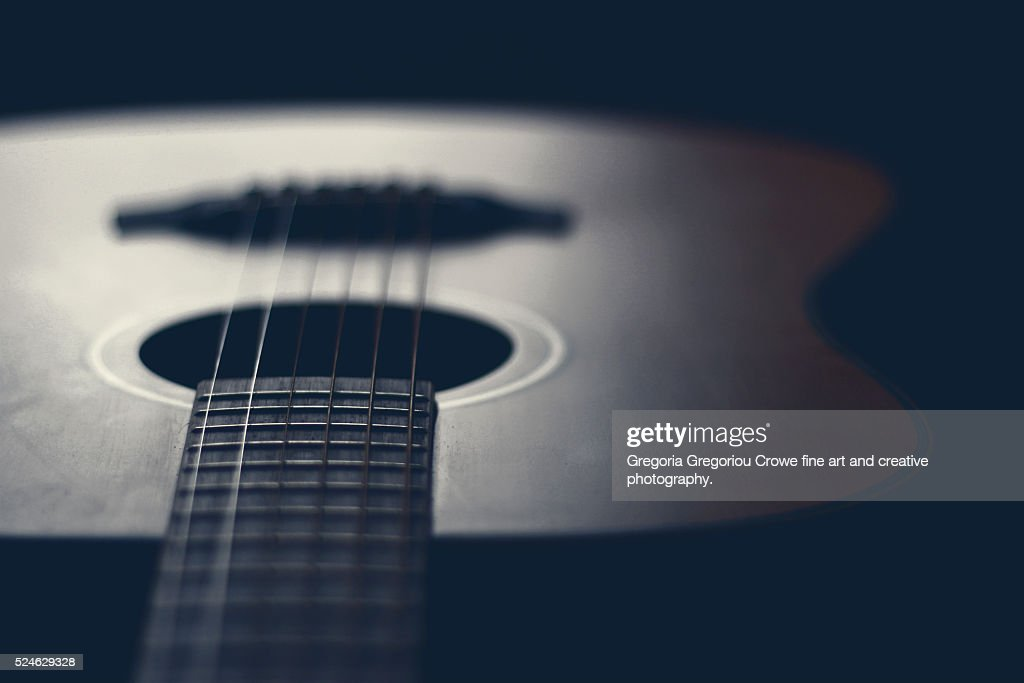 Acoustic Guitar : Stock Photo