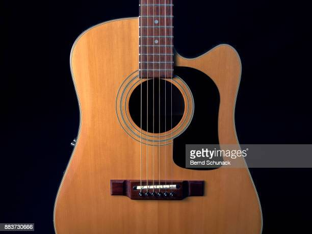 acoustic guitar - bernd schunack stock pictures, royalty-free photos & images
