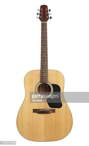 Acoustic guitar with path