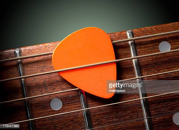 Guitarra acústica con selección