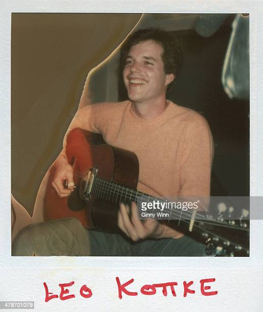 Acoustic Guitarist Leo Kottke in studio 1973 in Los Angeles CA