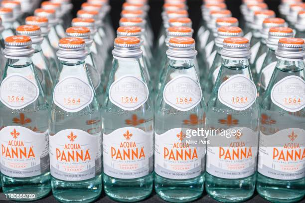 Acqua Panna on display at Four Roses Bourbon's Broadway Tastes presented by iHeartRadio Broadway hosted by Alex Brightman with special guest Randy...