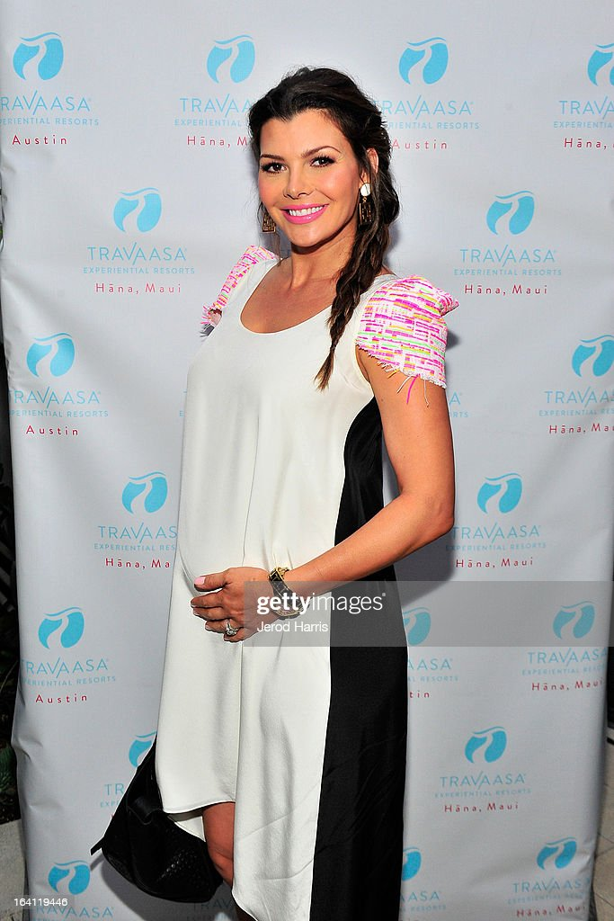Acress Ali Landry attends Travaasa Resorts official LA experience event at Kinara Spa on March 19, 2013 in Los Angeles, California.