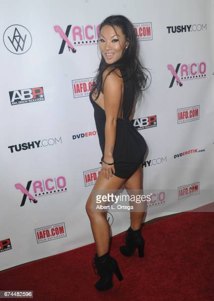 Acress Asa Akira arrives for the 33rd Annual XRCO Awards Show held at OHM Nightclub on April 27 2017 in Hollywood California