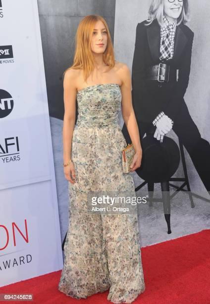 Acress Daniella GarciaLorido arrives for the AFI Life Achievement Award Gala Tribute To Diane Keaton held on June 8 2017 in Hollywood California