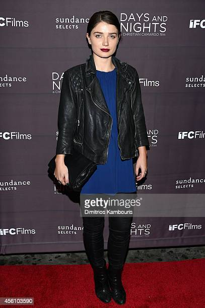 Acress Eve Hewson attends the premiere of Days And Nights at the IFC Center on September 25 2014 in New York City