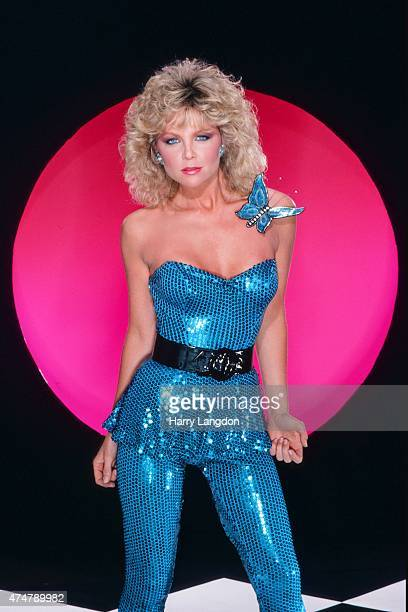 Acress Lisa Hartman poses for a portrait in 1983 in Los Angeles California