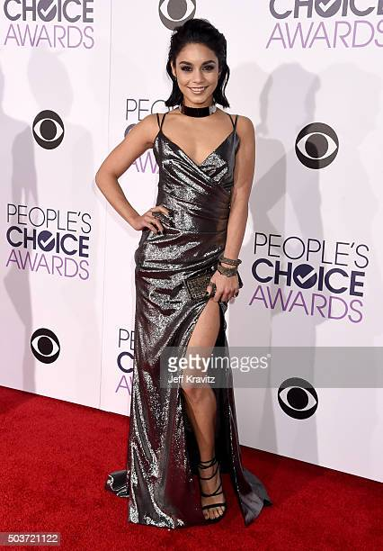 Acress Vanessa Hudgens attends the People's Choice Awards 2016 at Microsoft Theater on January 6 2016 in Los Angeles California