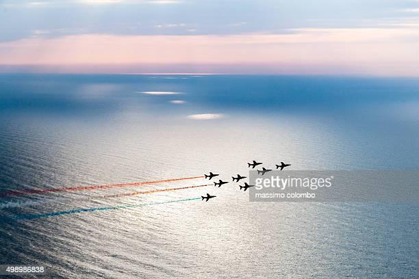 Acrobatic airplanes