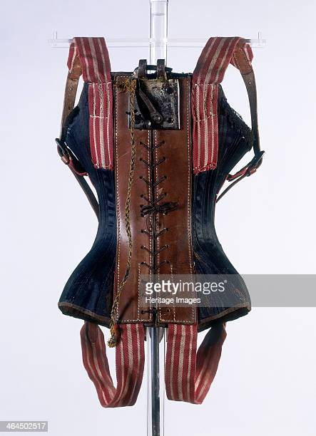 Acrobatic flying corset c1861c1871 The corset was worn by the 'flying dancer' Azella who began performing as the first solo flying dancer in 1865 The...