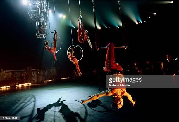 Acrobats for Millennium Show