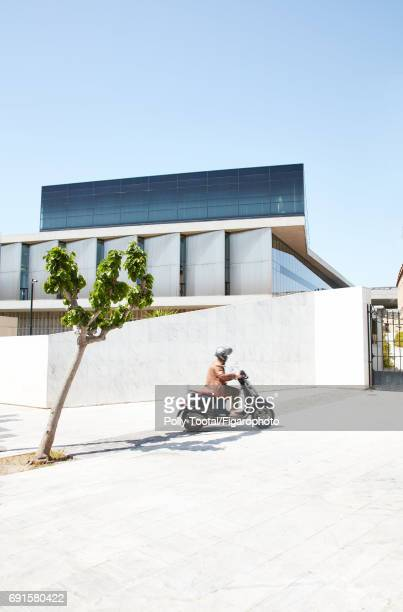 Acropole museum is photographed for Madame Figaro on January 1, 2000 in Athens, Greece. PUBLISHED IMAGE. CREDIT MUST READ: Polly...