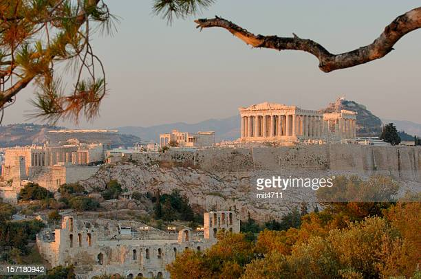 acropolis ii - athens greece stock pictures, royalty-free photos & images