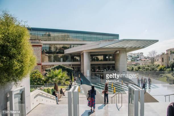 musée de l'acropole à athènes - athènes photos et images de collection
