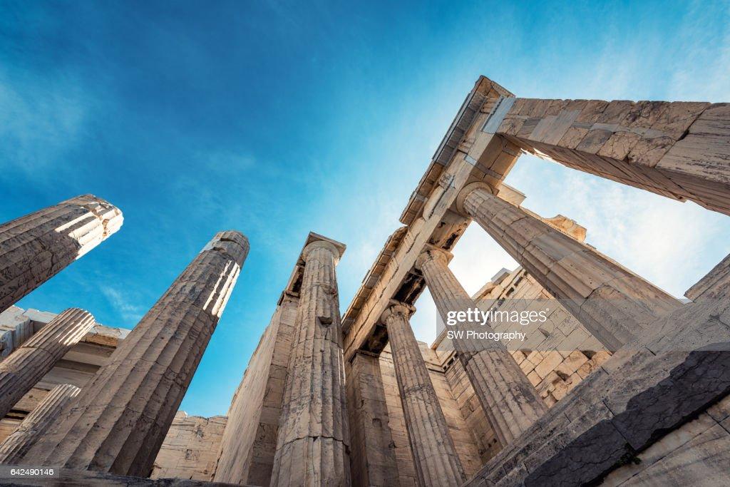 Acropolis of Athens, Greece : ストックフォト