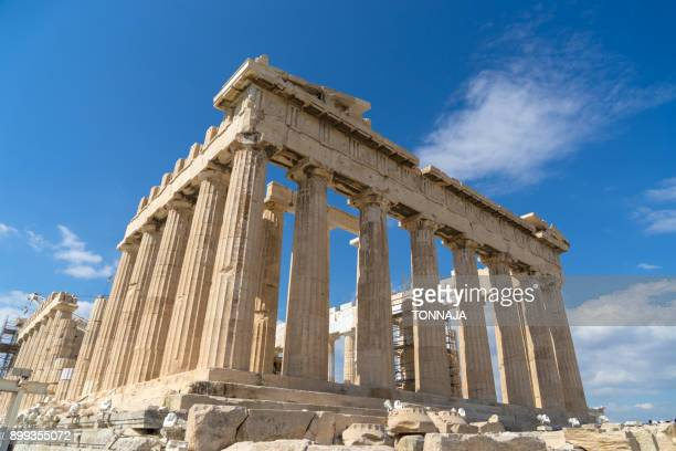 acropolis of athens, greece - ancient greece photos stock pictures, royalty-free photos & images