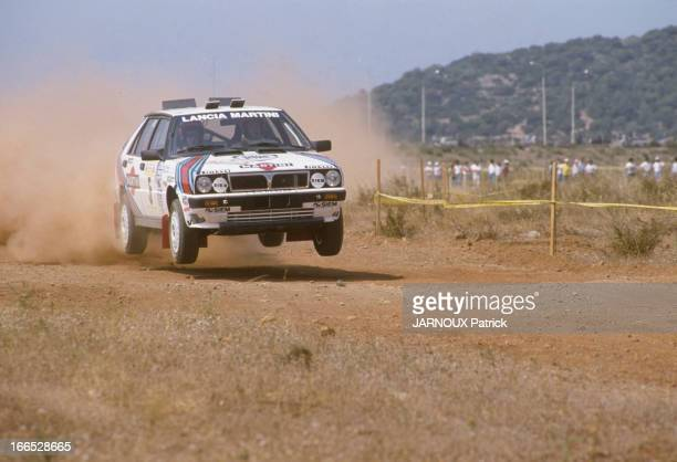 Acropolis Rally 1987 In Greece