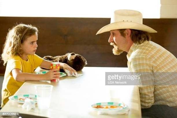 SHOOTER Across the Rio Grande Episode 206 Pictured Lexy Kolker as Mary Swagger Josh Stewart as Solotov