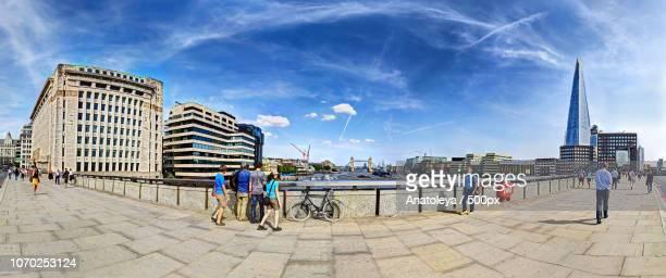 Across the Thames from Southwark Bridge