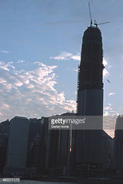 Across the Victoria Harbour the latest edition to the Hong Kong skyline is being constructed When completed the Two International Finance Centre will...