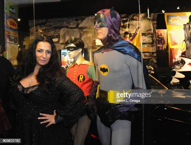 Acrtress Alice Amter attends The Batman '66 Exhibit Opening held at The Hollywood Museum on January 10 2018 in Hollywood California