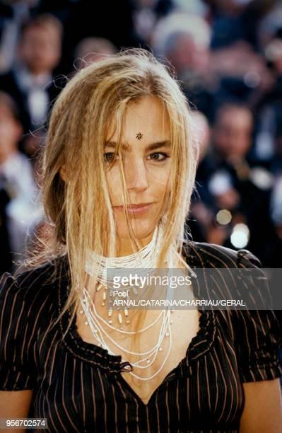 L'acrtrice Sophie Duez au Festival de Cannes en mai 1997 France