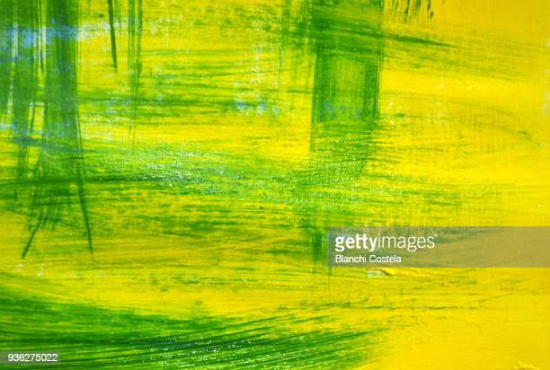 acrylic paint texture - acrylic painting stock photos and pictures