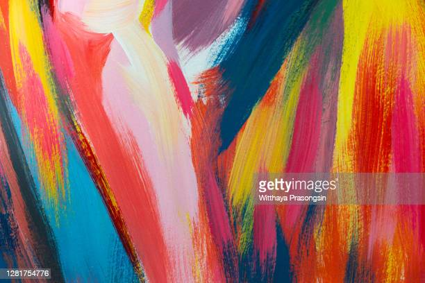 acrylic painting - arte fotografías e imágenes de stock