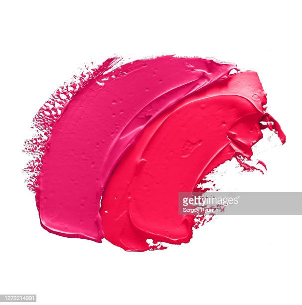 acrylic smears on a white background - stroking stock pictures, royalty-free photos & images