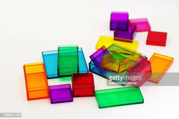 acrylic squares and rectangles - アクリル ストックフォトと画像