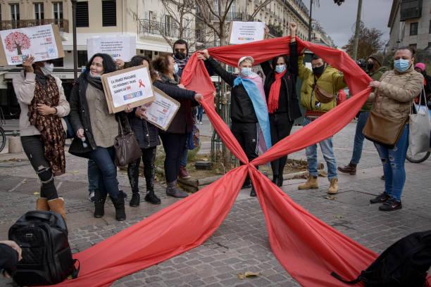 FRA: World AIDS Day In Paris