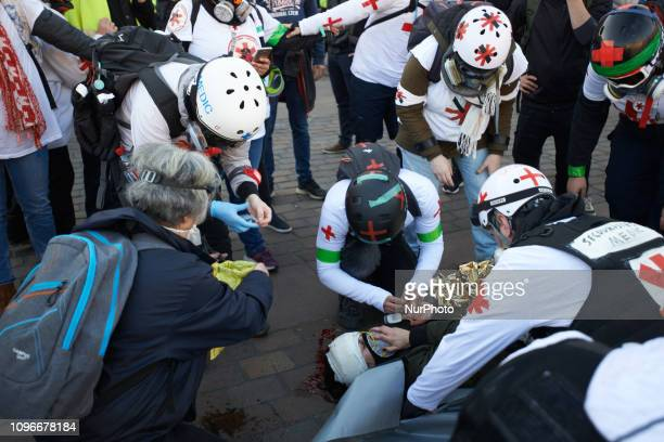 Act XIII dubbed 'Civil disobediencequot' of the Yellow Vest movement begun peacefully but the protest turned to riot Gendarmerie Mobile and riot...