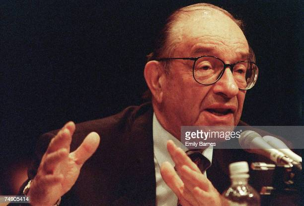 ACTChairman of the Federal Reserve Board Alan Greenspan testifies at the hearing for the Commodity Futures Modernization Act