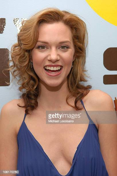 Actcress Hilarie Burton appears on MTV's 'TRL' at MTV Studios in New York City's Times Square on January 8 2008