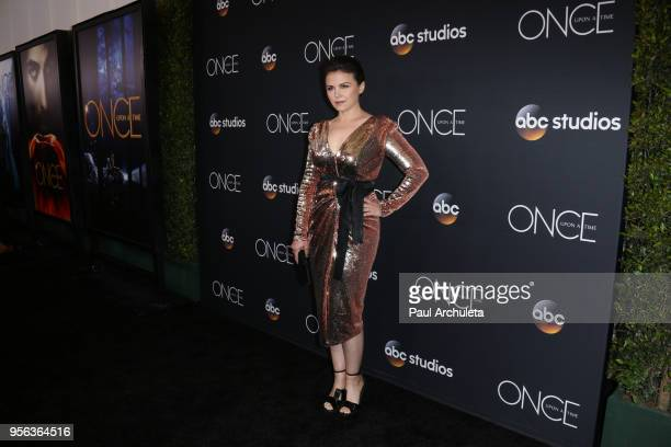 Acteess Ginnifer Goodwin attends the Once Upon A Time finale screening at The London West Hollywood at Beverly Hills on May 8 2018 in West Hollywood...