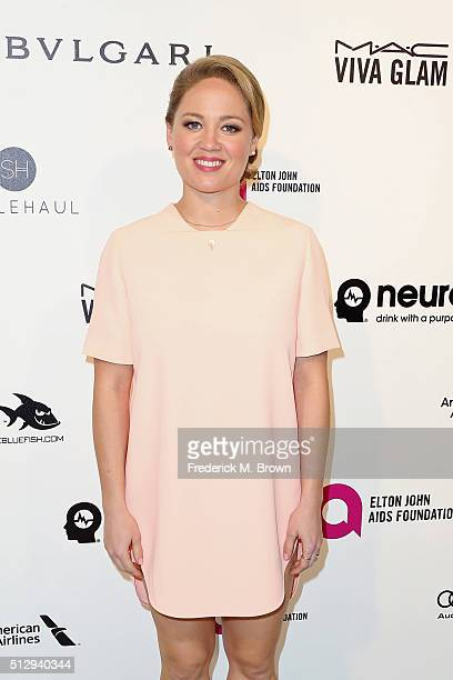 Actess Erika Christensen attends the 24th Annual Elton John AIDS Foundation's Oscar Viewing Party on February 28 2016 in West Hollywood California