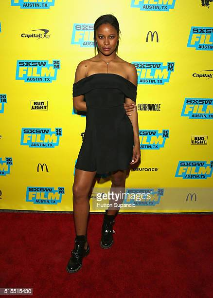 Actess Taylour Paige attends the premiere of Jean of the Joneses during the 2016 SXSW Music Film Interactive Festival at Stateside Theater on March...