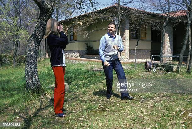 L'acteur Aldo Maccione en mai 1980 en Italie