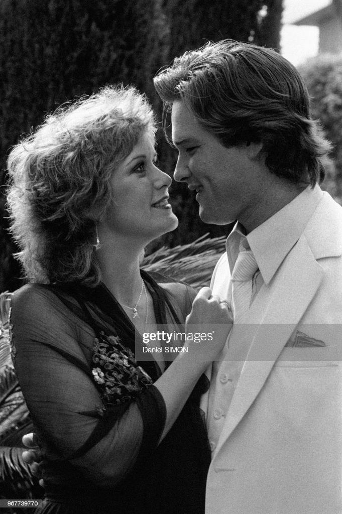 Kurt Russel et sa femme à Cannes en 1979 : News Photo